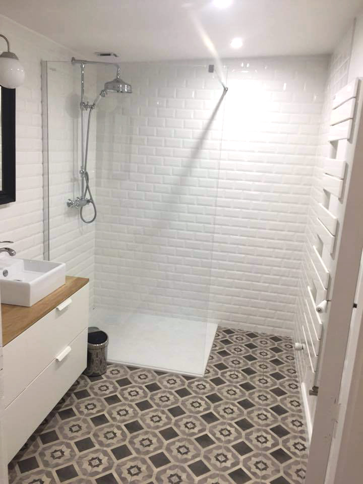 Exterieur carrelage tendance for Carrelage salle de bains tendance